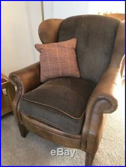 Alexander & James-1 Large 2 Seater + 1 Snuggler Chair + 1 Winged Arm Chair