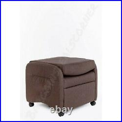 Armchair Recliner Sofa Chair Chairs Cinema Wing Back Fabric Lounge Chair New