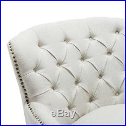 Chesterfield Wing Back Queen Anne Button Studded Fireside Armchair Sofa Chair