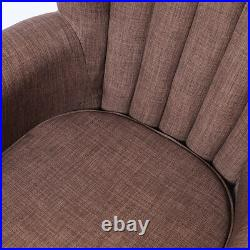 Classical Vintage Armchair Accent Chair Tube Sofa Wing Back Upholstered Seat New