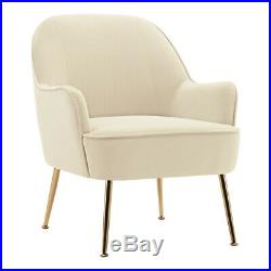 Modern Occasional Wing Back Chair Living Bedroom Lounge Sofa Tub Nordic Armchair