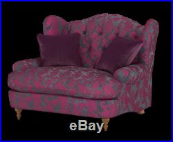 NEW Liberte Wing Back Loveseat Chair SAVE £450 By Sofology
