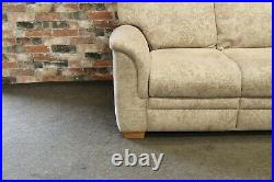 Parker Knoll Hudson 3 Seater Sofa & 2 Matching Penhurst Wing Chairs Beige Fabric