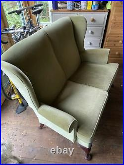 Parker Knoll Wing Back Chair Sofa