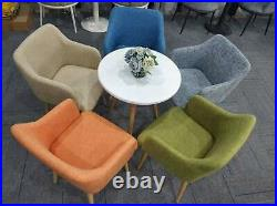 Set 1 or 2 Classic Fabric Tub Armchair Wing Back, Sofa Dressing Chair Next Day