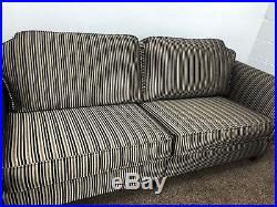 Somerset 4+1+1 Seater Sofa Set Wing Chairs Fabric Rrp £2400