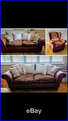 Two Tetrad Grande sofa Eastwood & Wing Chair